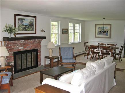 North Chatham Cape Cod vacation rental - Great Room (Living room and dining area)