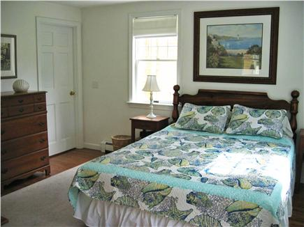 North Chatham Cape Cod vacation rental - Downstairs bedroom (queen bed)