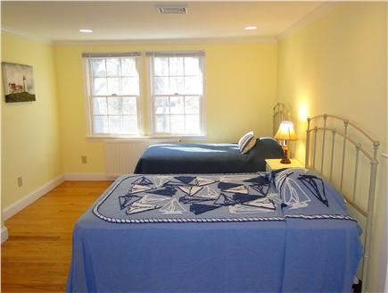 Chatham Cape Cod vacation rental - Upstairs large bedroom with two twins, one full