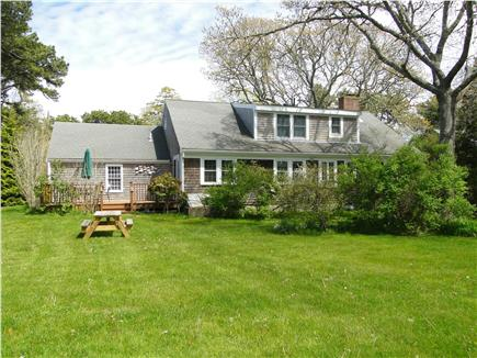 Chatham Cape Cod vacation rental - Deck and large back yard for play