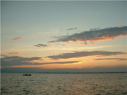 East Brewster Cape Cod vacation rental - Sunset on Cape Cod Bay
