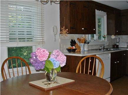 East Brewster Cape Cod vacation rental - Dining area, looking towards kitchen