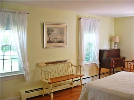 East Brewster Cape Cod vacation rental - Master bedroom and front windows