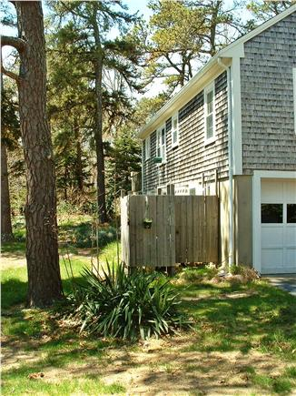 East Brewster Cape Cod vacation rental - Outdoor enclosed hot-water shower