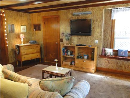 East Orleans Cape Cod vacation rental - Living area with Flatscreen TV