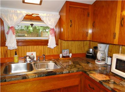 East Orleans Cape Cod vacation rental - Other view of kitchen