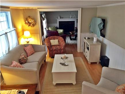 West Harwich Cape Cod vacation rental - TV Room