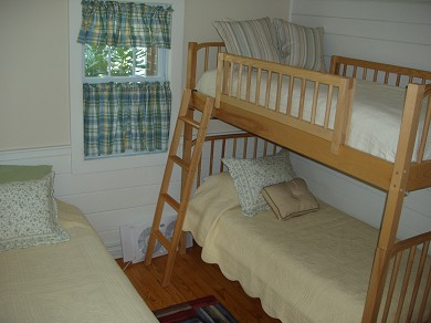 West Harwich Cape Cod vacation rental - Third bedroom - Twin and twin bunk (three beds)