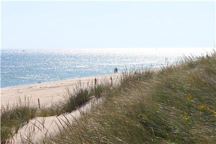 South Orleans Cape Cod vacation rental - From the dunes at Nauset beach (ocean)
