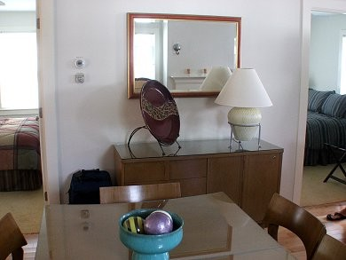 Provincetown Cape Cod vacation rental - Bedroom View from Dining Area