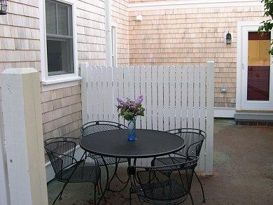 Provincetown Cape Cod vacation rental - Patio Area in Rear Of Property