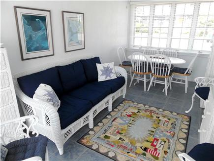 Barnstable Village Cape Cod vacation rental - Feel the refreshing ocean air on the screened-in breezeway.