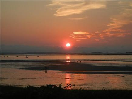 Barnstable Village Cape Cod vacation rental - Remarkable tidal beach & amazing sunsets over Barnstable Harbor