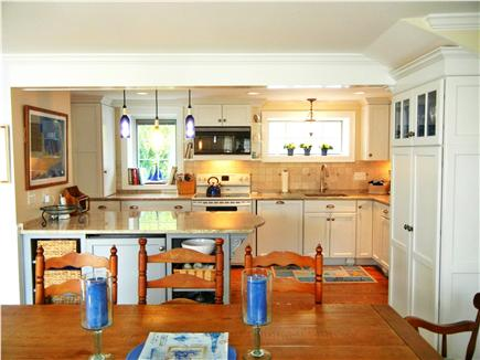 Barnstable Village Cape Cod vacation rental - Spacious new kitchen with granite countertops and custom cabinets