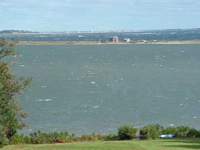 Plymouth MA vacation rental - Beautiful view of waterfront on a windy day