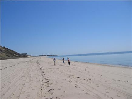 Truro Cape Cod vacation rental - Private beach below the house