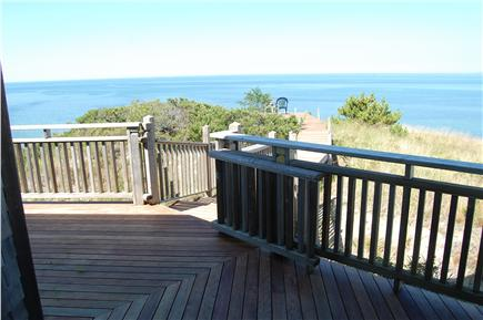 Truro Cape Cod vacation rental - View from the covered deck