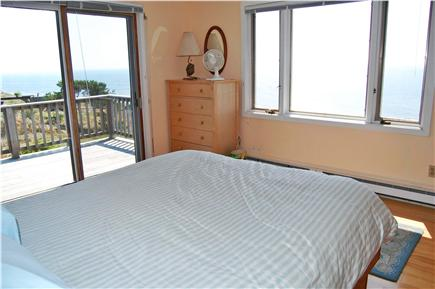 Truro Cape Cod vacation rental - Master Bedroom - a room with a view!