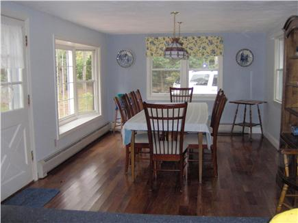South Chatham Cape Cod vacation rental - Spacious Dining Room with 8' dining table