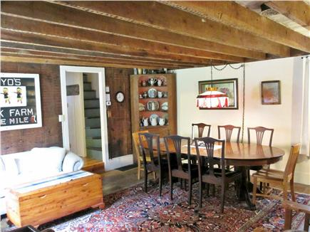 West Brewster Cape Cod vacation rental - Charming dining and family room