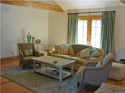 Truro Cape Cod vacation rental - Spacious and vaulted living room