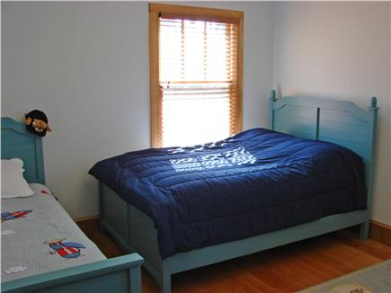 Truro Cape Cod vacation rental - Main floor bedroom with queen bed and twin