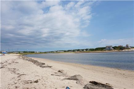 West Dennis Cape Cod vacation rental - Rights to Private and Public beaches at end of road!