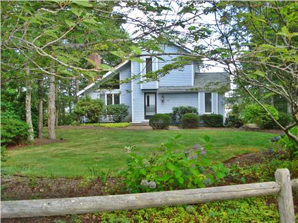 Falmouth, Waquoit Bay Cape Cod vacation rental - Front yard and house
