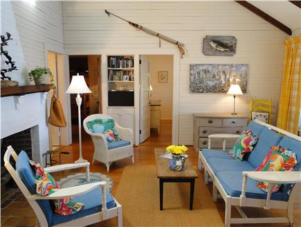 Centerville Centerville vacation rental - Bright, lofted living room – adjacent to porch