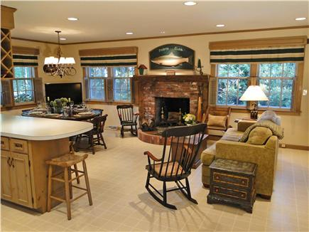 Centerville Centerville vacation rental - Open space with family room, dining and kitchen