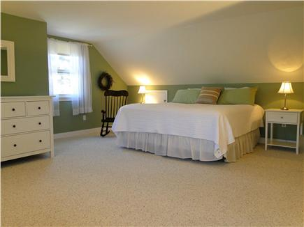 Chatham Cape Cod vacation rental - Upstairs king bedroom – largest bedroom!