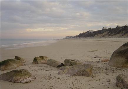 Plymouth MA vacation rental - Beautiful, private Manomet Beach is directly across the street!
