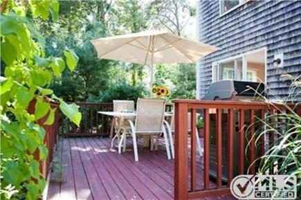 North Eastham Cape Cod vacation rental - Deck with Gas Grill