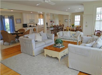 Mashpee New Seabury/Popponesse Cape Cod vacation rental - Spacious living area with open floor plan