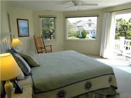 Mashpee New Seabury/Popponesse Cape Cod vacation rental - Master suite upstairs with private bath and balcony w/ ocean view