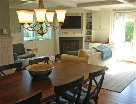 West Yarmouth Cape Cod vacation rental - Brand new dining area, TV room, and bar area, with access to deck