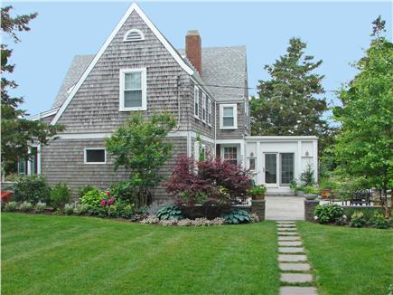 West Yarmouth Cape Cod vacation rental - Beautiful yard for enjoying the gardens and playing