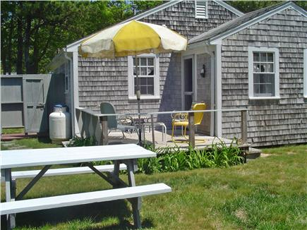 Mashpee, Popponesset Beach Cape Cod vacation rental - Rear Deck and Outside Shower