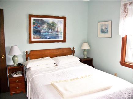 West Dennis Cape Cod vacation rental - First floor bedroom #1 with queen size bed.