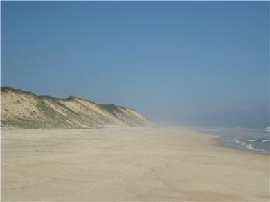 'The Back Woods,'  Wellfleet Cape Cod vacation rental - A 15/20-minute comfortable walk puts you on this beach.
