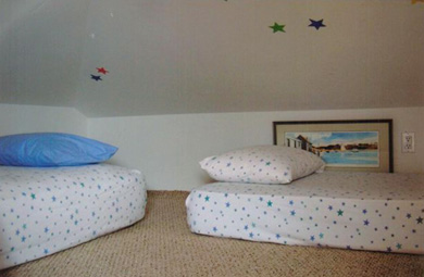 Chatham Cape Cod vacation rental - Loft Area for reading, playing or napping with 2 single beds