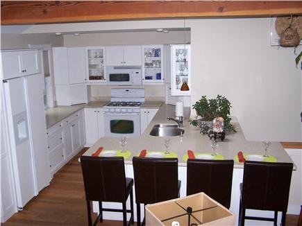 Chatham Cape Cod vacation rental - Pristine Kitchen & Breakfast Bar with 4 leather chairs