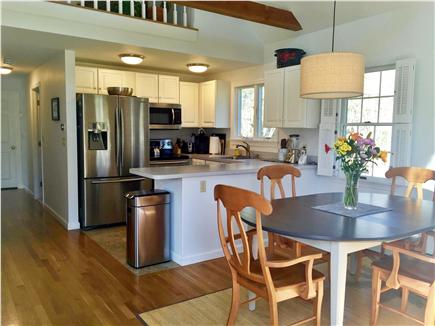East Brewster  Blueberry Pond Cape Cod vacation rental - Well stocked modern kitchen