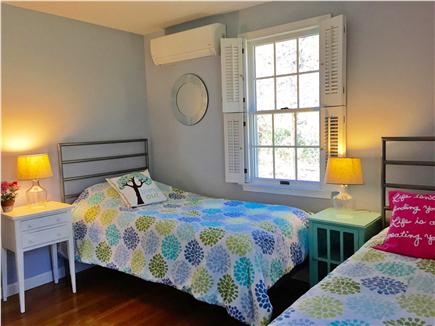 East Brewster  Blueberry Pond Cape Cod vacation rental - Third bedroom with two twin beds