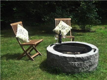 East Brewster  Blueberry Pond Cape Cod vacation rental - Extend your evening by the fire pit