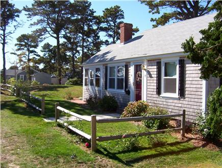 Dennis Port Cape Cod vacation rental - Fenced in double lot for added privacy and room to play!