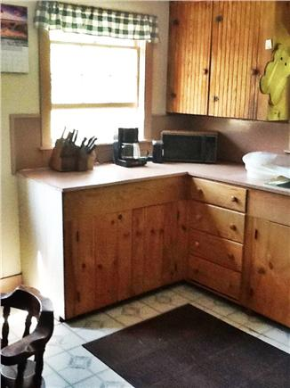Wellfleet Cape Cod vacation rental - Kitchen with Eat in Captain's Table