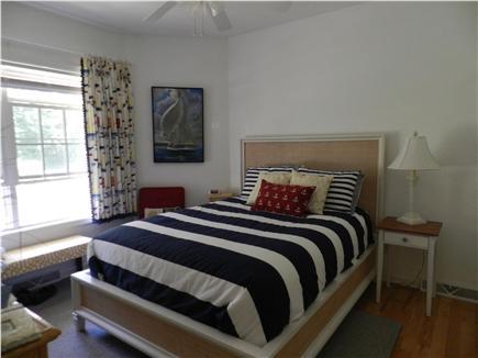 Harwichport Cape Cod vacation rental - First floor bedroom - Queen bed.  Full bathroom next door.