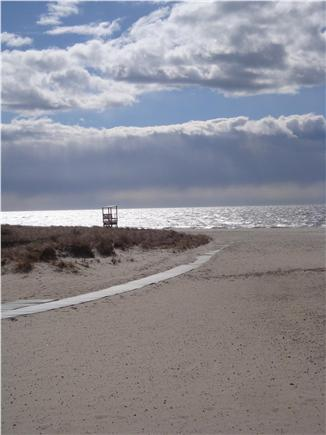 Harwichport Cape Cod vacation rental - Bank Street Beach.  Lots of space to run and play!
