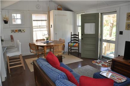 Wellfleet Cape Cod vacation rental - Living/dining area